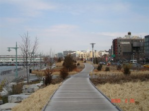 Hudson River Park at Watts Street