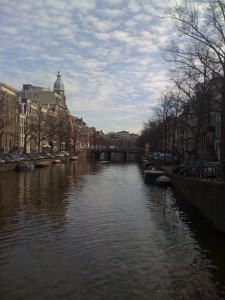 One of the Beautiful Amsterdam Canals